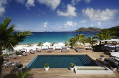 Wake up To the Relaxing Sound of The Sea at Cheval Blanc St. Barth Isle de France #XOPrivate