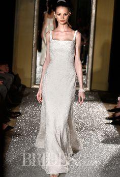 Brides: Oleg Cassini Wedding Dresses   Fall 2015   Bridal Runway Shows   Brides.com | Wedding Dresses Style