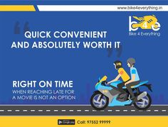 An on-time, on-demand #2Wheeler #TaxiService in #Indore..! #RidewithBike4Everything