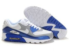 Hotels models Nike Air Max 90 Shoes Online Men Grey White Blue and Nike Air Max Men Are Available Online