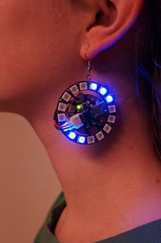 Arduino Lilypad earring on Etsy