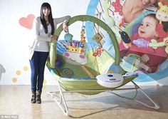 a3c8482e3c0 Fisher Price unveil adult-sized baby bouncer in fun PR stunt