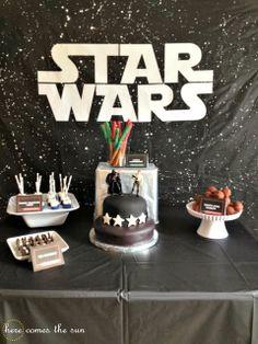 Star Wars Birthday Party via herecomesthesunblog.net