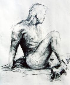 Nude 2 - Artwork by Matthew Ziranek Nudes, Art Gallery, My Arts, Statue, Illustration, Artist, Artwork, Art Museum, Work Of Art