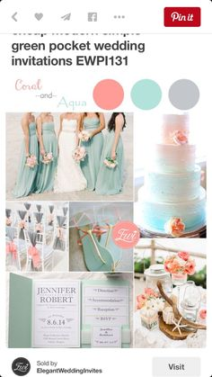 Papaya wedding color scheme? Ideas? - Weddingbee