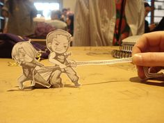 Paper children Zoro and Sanji by Skimx on DeviantArt Paper Child, Anime Crafts, One Piece Pictures, Funny Drawings, Cute Anime Chibi, So Creative, Zoro, Dear God, Hetalia