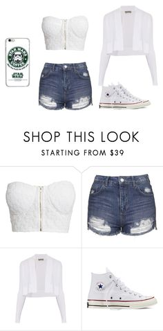 """""""may the froth be with you"""" by designer36 ❤ liked on Polyvore featuring NLY Trend, Topshop, Sportmax and Converse"""