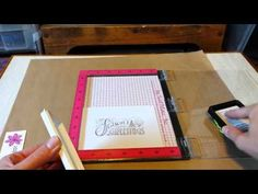 Stencils + Rubber Cement Masking - YouTube