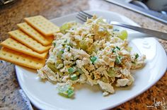 I've tried something like this. I want to add pecans and finely diced celery.