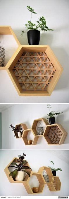 Room Inspiration, Design Inspiration, Building Renovation, Wall Storage, Diy Wood Projects, Diy Design, Floating Shelves, Diy And Crafts, Sweet Home