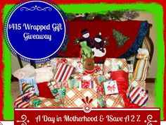 I want to win $415 in SECRET Wrapped Gifts from @Lori Pace and @Jennifer - iSaveA2Z Blog Ends 12/8/2013