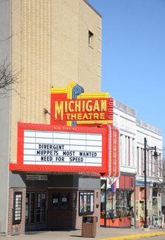 movie theater, South Haven, Michigan.. One of the best old fashion theaters around.