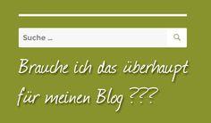 Die Suchfunktion in WordPress – brauche ich das überhaupt?