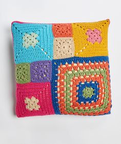 Patched Persuasion Pillows   Red Heart