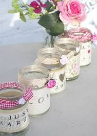 Image result for painted jam jar tea light holders