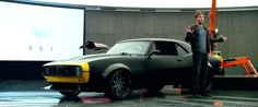 Chevrolet Camaro (1967) car driven by Jack Reynor in TRANSFORMERS: AGE OF EXTINCTION (2014) @Chevrolet