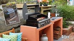 Image result for images of decks with barbecue areas