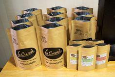#lacremakaffe #roasters #coffeecupping #qualitycontrol #SpecialtyCoffee #DrikkNytElsk #Denbestekaffe #happy  ♥