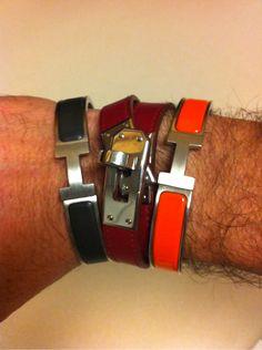 hermes clic hh men 39 s bracelet homme depot pinterest bracelets style and gentleman. Black Bedroom Furniture Sets. Home Design Ideas