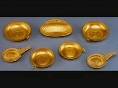 A nagyszentmiklósi aranykincsek - YouTube Eurasian Steppe, Middle Ages, Art History, Decorative Bowls, Culture, Youtube, Gold, Mid Century, Youtubers