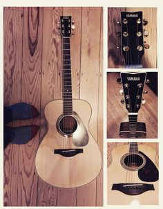New Yamaha acoustic/electric guitar