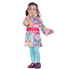 Disfraz Hippie de la Paz Bebé #disfraces #carnaval #novedades2016