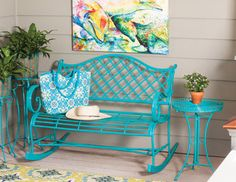 A Breath of Fresh Air - New Styles for Your Outdoor Space love the painting