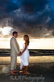 Beach Wedding Photos :)