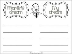 Lots of cute and free MLK activities