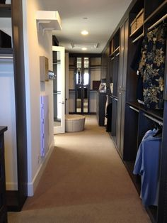 Now that's a walk-in closet!