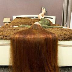 Straight Red Hair, Long Red Hair, Super Long Hair, Bun Hairstyles For Long Hair, Girl Hairstyles, Hair Addiction, Silky Hair, Beautiful Long Hair, Shoulder Length Hair