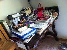 La mia scrivania...