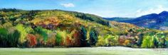 Color on the Mountain, painting by artist Takeyce Walter
