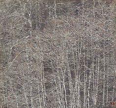 Zha Sai Dusk  Medium: Reduction woodcut Edition : Edition of 10 Size: 19 x 18 Stock Number: 330812 Price: $2500.00 - davidsongalleries.com/artists/contemporary/zha-sai/