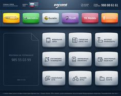 Payvand kiosk UI on Behance