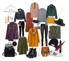 """"""""""" by sagajulias on Polyvore featuring Madewell, Topshop, adidas Originals, Helmut Lang, Rochas, MANGO, Zara, Mark Cross, American Eagle Outfitters and rag & bone"""
