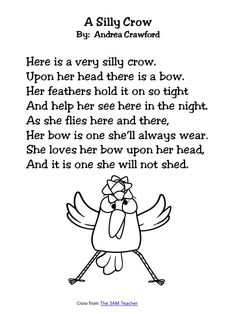 Funny Children's Poem about a girl who is afraid of the dark. Great ...