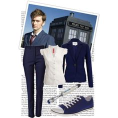 7. Doctor- The Doctor by hannah-banana on Polyvore