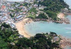 Ploumanac'h plage de saint-guirec Bretagne