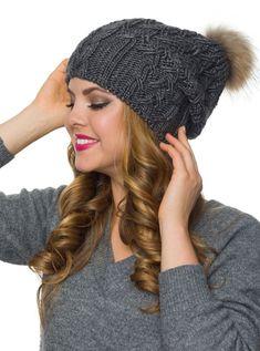 98a8263b050 Pom pom hat fleece lined-Fur pom pom slouchy beanie-Winter hats for women-Slouchy  beanie women-Pom pom beanie-Slouchy hat fur pom-Pom hats