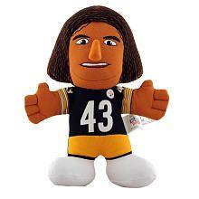 NFL Pittsburgh Steelers 7 inch Plush Figure - Troy Polamalu