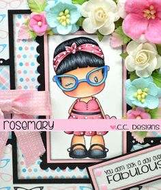 Rosemary's Creations: C.C. Designs Rockabilly Abigail + a GIVE-AWAY!!