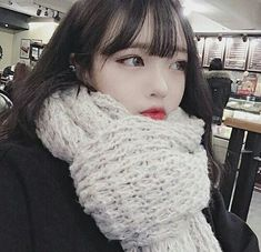 Korean Image, Choi Hee, Mask Girl, Korean Makeup, Ulzzang Girl, Korean Girl, Cute Girls, We Heart It, Crochet Hats