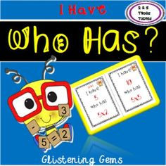 I Have, Who Has Game - Multiplication Facts {2 & 5 Times Tables} I Have, Who Has Game is a popular game that is used to reinforce important concepts taught in class. It is a fun game to play first week back to school.   I Have, Who has Game is designed to recall 2 & 5 multiplication facts. To play the game, 28 students will need to play. Each student takes a card. If there are not enough cards for each student in the class then you can pair them up with other students. If there are extra…