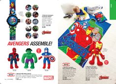 eBrochure | AVON #Marvel #Avengers!  Kids will LOVE these items and you've gotta love our prices.  If you'd like to save even MORE money, use the code AVONFB60 at checkout to save an additional 20% off a $60 order @ https://rfulkerson.avonrepresentative.com/