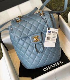 8d6d228931a712 Bella Vita Moda online fashion boutique · Chanel Blue lambskin backpack  2019 #handbags #fashion #bags #purse #bag #