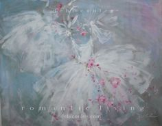 My new painting Dancing Tutus available at www.debicoules.com