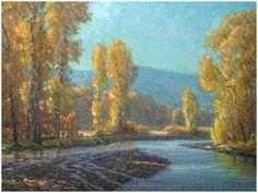 """Morning Light on the Gallatin River"" - Jim Dick Western Painter, Bozeman, MT."