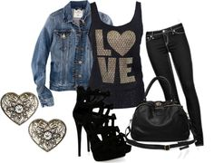 """Valentine #1"" by tonyagex on Polyvore"