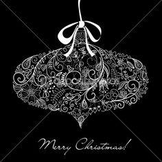 Christmas ornament illustration. — Stock Illustration #27377421